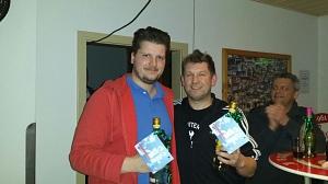 1. Platz 2017 Moritz und Michael