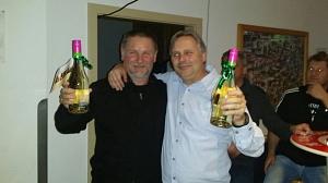 4. Platz 2017 Peter und Rudi