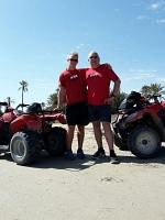 Der RWE ist in Tunesien angekommen! Aaron und Torsten vertreten unsere Farben auf Djerba!