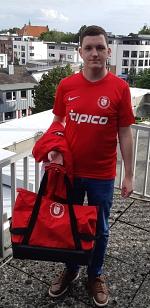 Dorian Spange RWE Sportkleidung