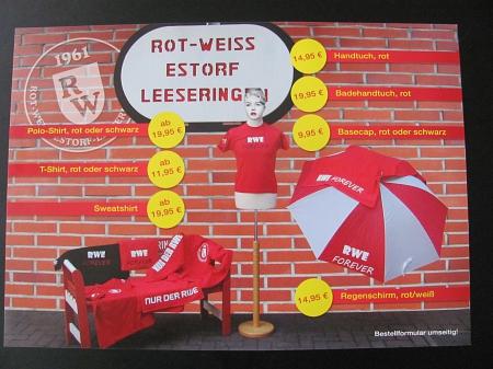 Flyer RWE-Fanshop