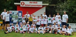 Gruppenfoto Fussballcamp 04.07.-06.07.2014