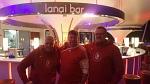 Enne, Andre und Esel an der AIDA lanai Bar