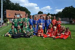 Siegerehrung F-Junioren