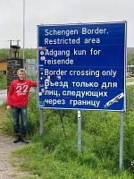 Hoffentlich hat Thilo kein Freundschaftsspiel gegen Kirkenes an der norwegisch-russischen Grenze, am Ende von Europa abgemacht (wäre wohl doch ein wenig weit für eine Bustour)