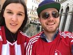Jana und Marv haben rot-weiße Fußballkultur nach Venedig gebracht.